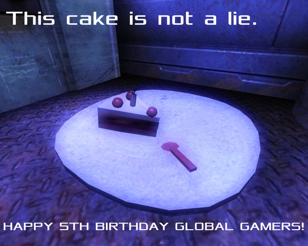 Happy 5th Birthday Global Gamers!