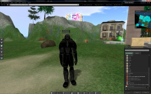 Erebus in Second Life