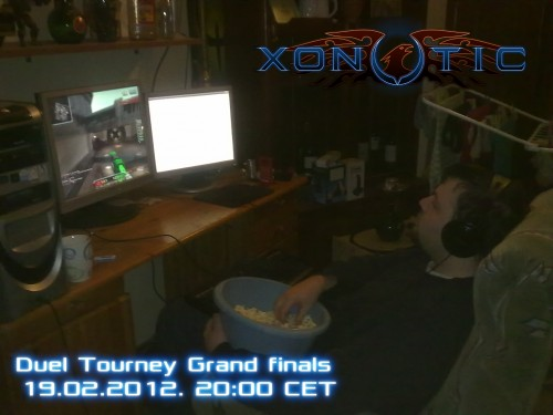 Xonotic 1v1 tourney Grand finals @ Sunday 19.02.2012 20:00 CET