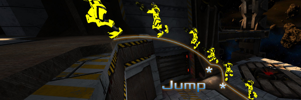 Basic Ramp Jump on Xoylent